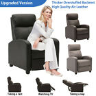 Kyпить Upgraded Padded Air Leather Wingback Recliner Chair Modern sofa Theater Seating на еВаy.соm