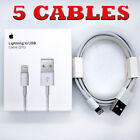 LOT Wholesale OEM Apple Lightning Cable 6ft USB Charger iPhone X/5/6/7/8/11/+/S