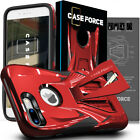 For Apple iPhone 8 7 6 Plus Case Cover Kickstand Armor Hybrid Skin Protector