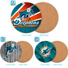 Miami Dolphins Wood Coaster Coffee Drink Tea Cup Mat Mug Pad $4.69 USD on eBay