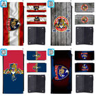 Florida Panthers Long Thin Leather Wallet Clutch Purse Card Holder $13.99 USD on eBay