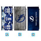 Tampa Bay Lightning Long Thin Leather Wallet Clutch Purse Card Holder $13.99 USD on eBay