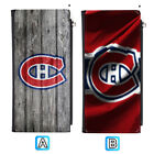 Montreal Canadiens Long Thin Leather Wallet Clutch Purse Card Holder $13.99 USD on eBay