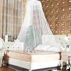 Elegant Lace Bed Mosquito Netting Mesh Canopy Princess Round Dome Netting image