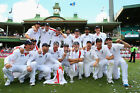 TEAM TROPHY ASHES 2010 2011 CHOOSE PHOTO PRINT SIZE ENGLAND CRICKET GIFT FOR HIM