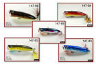 "Pack of 5 Akuna Jerster 2.2"" Topwater Popper Bass Trout Fishing Lures"