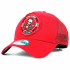 Tampa Bay Buccaneers NFL Truck Snap 9FORTY Cap Hat Trucker Snapback Mesh Pirates $18.99 USD on eBay