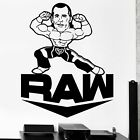 WWE Raw Wrestling Quote Vinyl Wall Art Decor Sticker for Home Room Decals