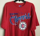 New Los Angeles Clippers Men's T-Shirt Size XL Adult Basketball Tee Shirt Red on eBay