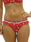 XS 8 Audelle Lepel Abstract Bikini Set Soft Padded Cup Tie Side Briefs