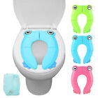 Upgraded Potty Seat Folding Travel Portable Cover Pad Toddler Kids Training Safe image