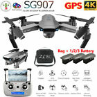 2020 Drone RC Drones SG907 4K HD Camera GPS WIFI FPV Foldable Quadcopter + Bag
