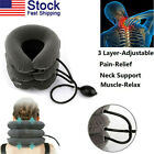 Air Traction Inflatable Cervical Neck Head Traction Support Brace Pain Relief US