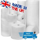UK BUBBLE WRAP SMALL & LARGE BUBBLE - EUROPES CHEAPEST 300 500 750mm 50 / 100m