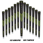 Golf Grips 13 Pieces with 15 Free Tapes 4 Colors Optional Rubber Golf Club Grips