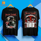 ALICE COOPER Ol' Black Eyes Is Back North American Tour 2020 Black T-shirt S-5XL image