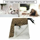 Warm Hanging Cat Bed Mat Soft Cat Hammock Hammock Pet Cage Bed Cover Cushion GN