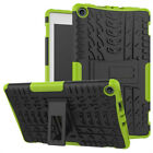 For Amazon Kindle Fire HD 8 Hybrid Rubber Stand Case Cover