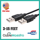 Kyпить USB 2.0 Extender Extension Cable Cord Type A Male to A Male 3-15FT HIGH SPEED на еВаy.соm