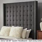 Marion Nailhead Wingback Tufted Tall Headboards by iNSPIRE Q