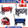 More images of Garden Wagon Trolley Pull-along Folding Cart Festival Camping shopping Park UK
