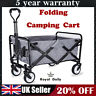 More images of Folding Hand Cart Garden Wagon Trolley Pull-Along Festival Camping Fishing UK