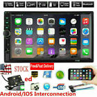 """2DIN 7"""" Car Stereo Radio MP5 FM Player AUX Android/IOS Mirror Link Touch Screen"""