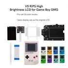 Multi Colors Backlight LCD IPS Screen Kit &Pre-Cutted shell For Game Boy GBO/DMG