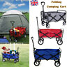 More images of Garden Cart Beach Collapsible Folding Wagon Handcart Trolley Camping Fishing UK