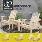 Gardeon Outdoor Furniture Chairs Table Lounge Setting Patio Diy Adirondack Chair