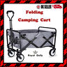 More images of Folding Hand Cart Garden Wagon Trolley Pull-Along Camping Fishing Transport UK