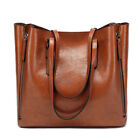 Fossil Vintage Style Handbags Leather Shoulder Ipad Leather Tote Bag image