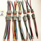 Kyпить 12 AWG Gray  Assembled  Deutsch one of 2,3, 4,6,8,12, Pin  waterproof  6