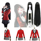 Kakegurui Compulsive Gambler School Uniform Yumeko Jabami For Cosplay Costume