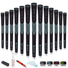 Golf Grips 13 Set with 15 Tapes Standard/Midsize Golf Club Grips Kit 4 Colors