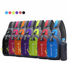 Women Men Nylon Sling Bag Crossbody Shoulder Chest Cycle Daily Travel Backpack image