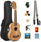 "21"" Soprano Classical Ukulele Kit for Beginner and Professional Player By Kmise"