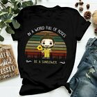 Funny Post Malone In A World Full Of Roses Be A Sunflower Vintage T-Shirts S-5XL