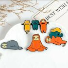 Sloth Enamel Pin Badge - Cute, Vibrant Brooches For Sloth Lovers Of All Ages
