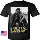 New Queen And Slim Poster Movie Cinema Unisex Black T-shirt Size S M L XL 2XL image