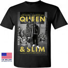 Queen And Slim Daniel Kaluuya Poster Movie Black New T-shirt Size S M L XL 2XL image