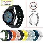 Kyпить (FREE Tpu case cover) Samsung Galaxy Watch Active 2 40 44mm Silicone Sport Band на еВаy.соm
