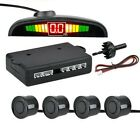 NEW CAR AUTO LED PARKING SENSOR WITH 4 SENSORS REVERSE BACKUP CAR PARKING RADAR