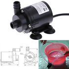 DC12V 280L/H Electric Mini Water Pump Brushless Motor Submersible for Aquariu JE