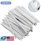 Flat Plastic Strip Nose Wire 2 Iron Wires Nose Bridge DIY Wire for Sewing Crafts