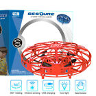 Flying Helicopter Mini Drone UFO RC Infraed Sensor Aircraft Quadcopter Kids Gratuity