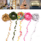 2-10m Leaves Ivy Leaf Garland 50led Fairy String Lights Home Wedding Party Decor