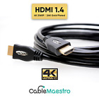 4K HDMI Cable Ultra HDTV BluRay UHD 3-50FT HDTV 3D PS4 XBOX 3840x2160 lot