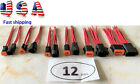 Assembled Deutsch 12 AWG Red Wires Black casing waterproof connector 6 pigtail