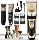 Electric Pet Dog Grooming Clippers Cordless Pet Hair Shaver Grooming Trimmer Set